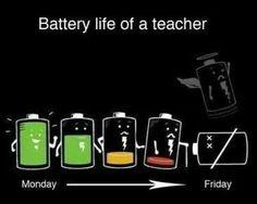 Teacher batter life